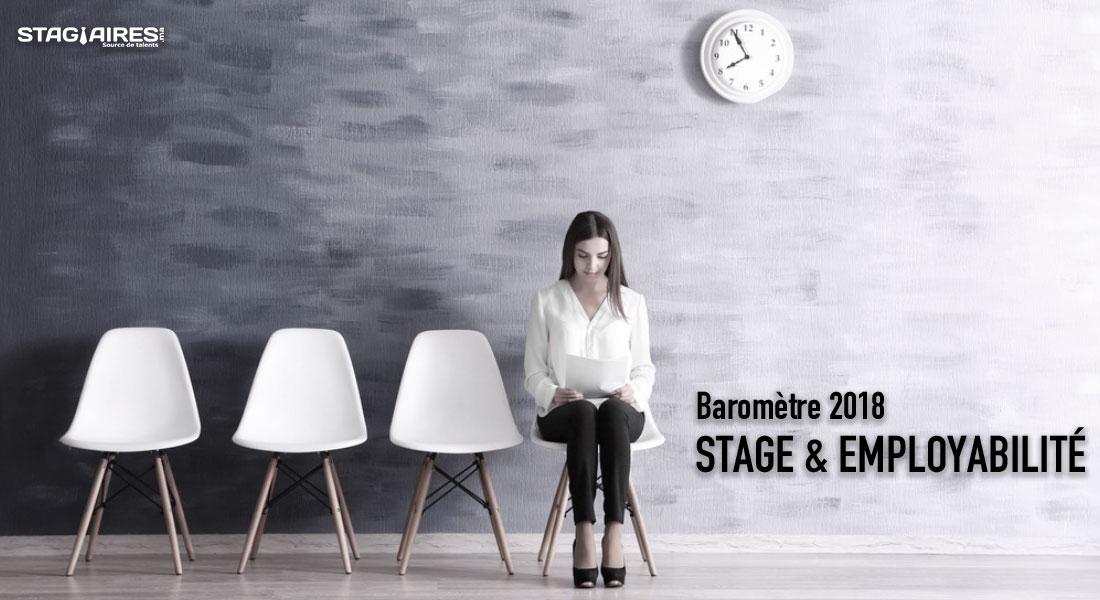 Baromètre Stage employabilité