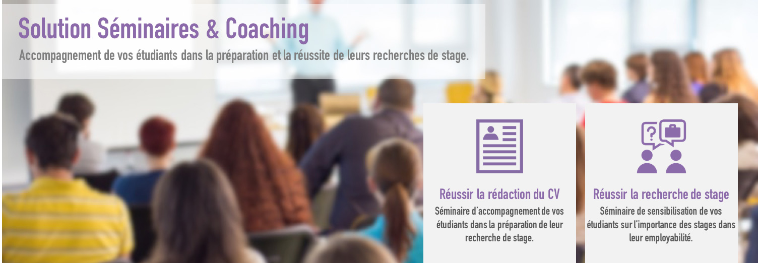 Solution Séminaires & Coaching
